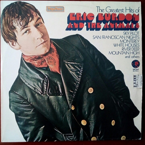 eric burdon and the animals - the greatest hits of - lp