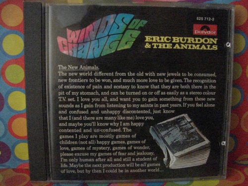 eric burdon cd y the animals winds of change in germany