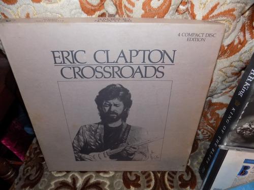 eric clapton  cja box con libro blues, importada, rock
