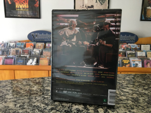 eric clapton - live in san diego (dvd)