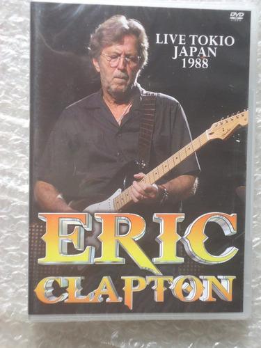 eric clapton live tokio japan 1988 dvd