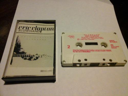 eric clapton slowhand cassette nacional