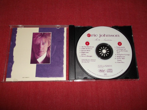 eric johnson - ah via musicom cd imp ed 1990 mdisk