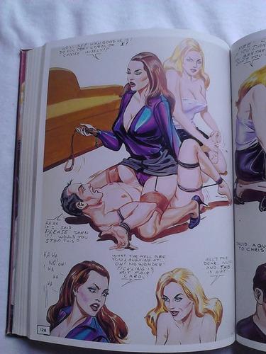 eric stanton dibujo erotico femdom , editorial taschen.