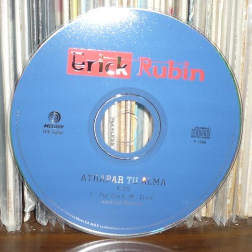 erick rubin cd single atrapar tu alma