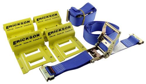 erickson 09160 kit de empalme de correa de rueda