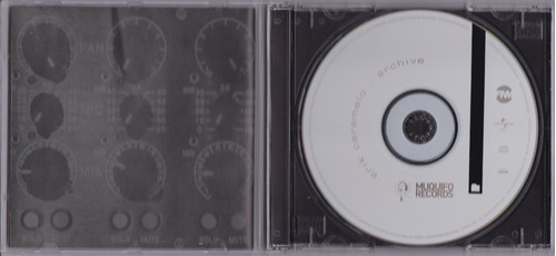 erik caramelo - cd archive - seminovo