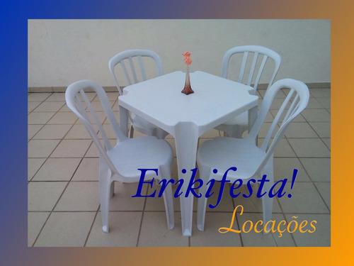 erikifesta! locações guarulhos - mesas, cadeiras e toalhas