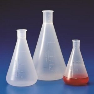 erlenmeyer autoclavable de polipropileno 125 ml . kartell