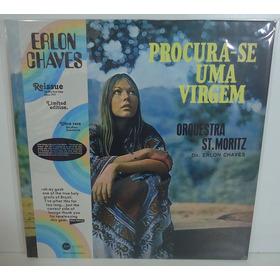 Erlon Chaves 1971 Procura-se Uma Virgem Lp Reedição Lacrado