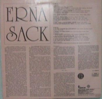 erna sack - as inesquecíveis interpretações - 1977