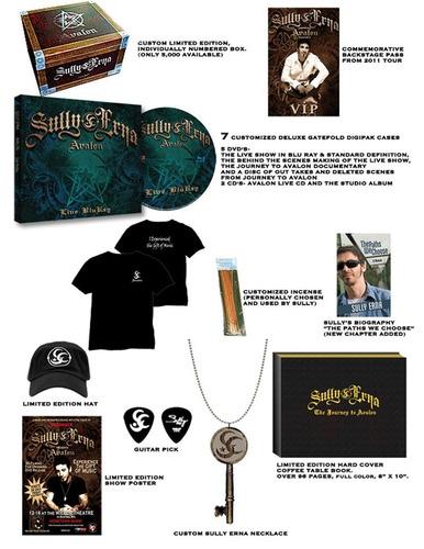 erna, sully - avalon live: limited edition custom box set