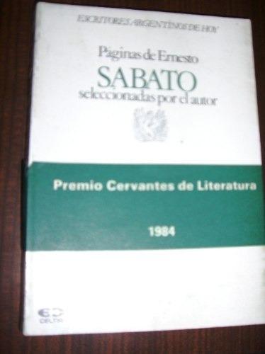 ernesto sabato  paginas seleccionadas por el autor