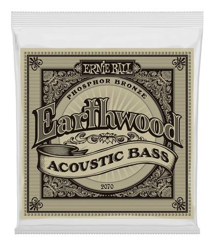 ernie ball cuerdas bajo acústico 45-95 bronce earthwood phos