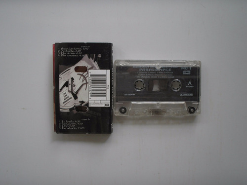 eroes del silencio parasiempre cassette printed españa 1996