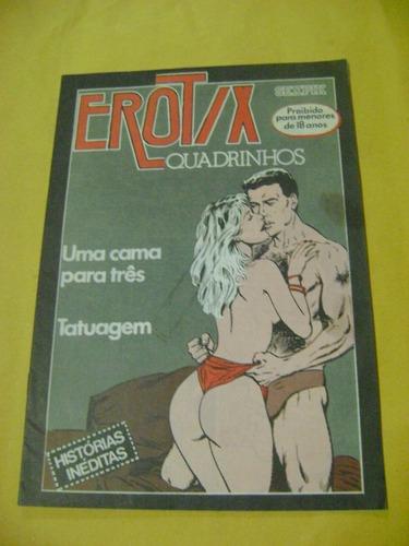 erotix em quadrinhos edição especial anos 80/90 tatuagem