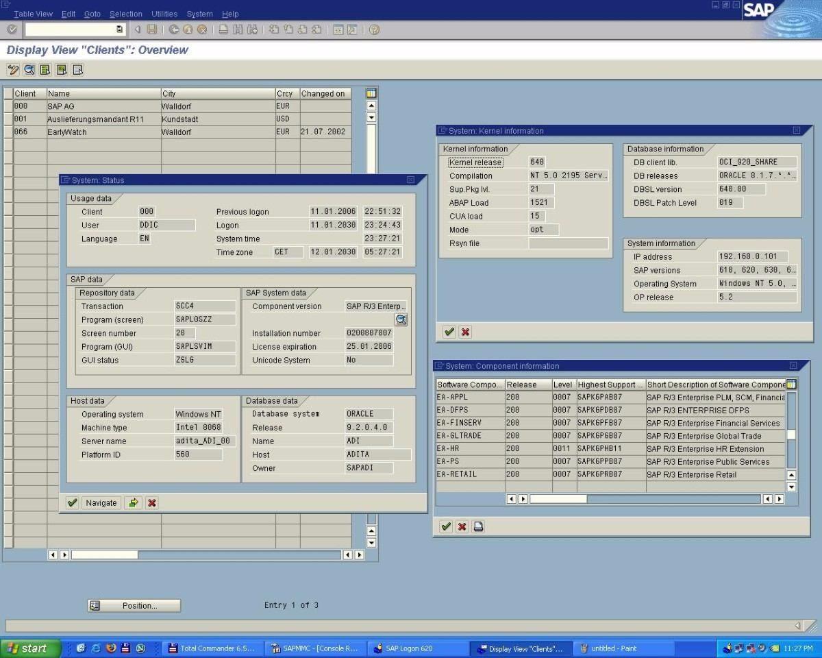 Erp Sap Ides R3 Mm Sd Rh Fi Co Admin Basis Consultor 500 Gb