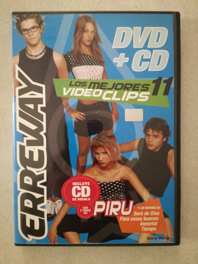 Erreway - Dvd + Cd - Videos Y Remixes - Formato Original - $ 300,00 ...