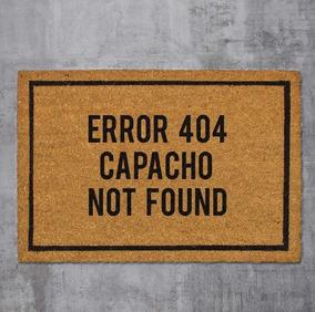 Error 404 Capacho Not Found