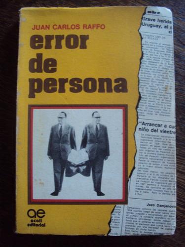 error de persona raffo novela sobre atentado paraguay abdala
