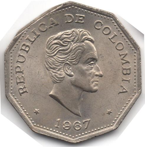 error final de riel 1 peso 1967