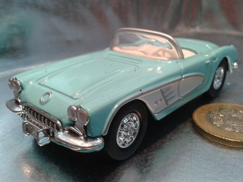ertl - 1960 chevy corvette escala 1/43