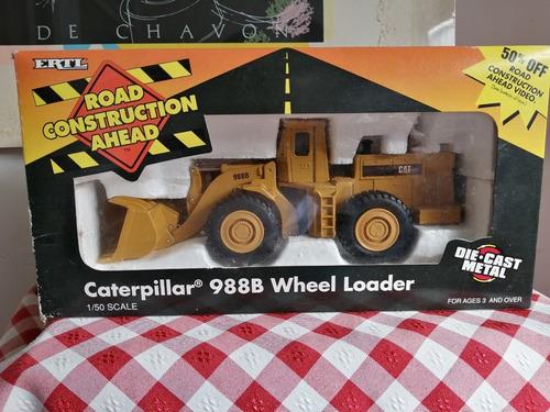 ertl caterpillar 988b escala 1/50