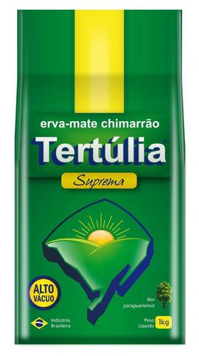 erva mate chimarrão tertúlia suprema vácuo - 1kg