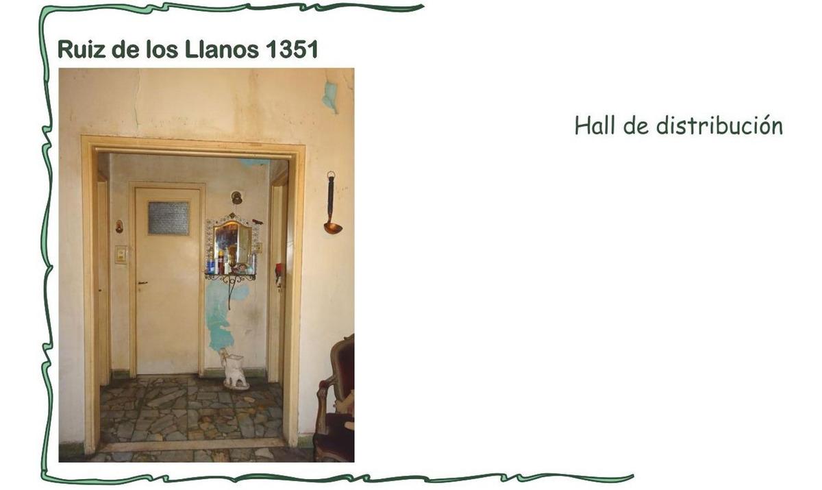es una perlita.. zona resid señorial casa en bajos año 1966