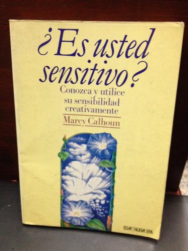 es usted sensitivo? marcy calhoum