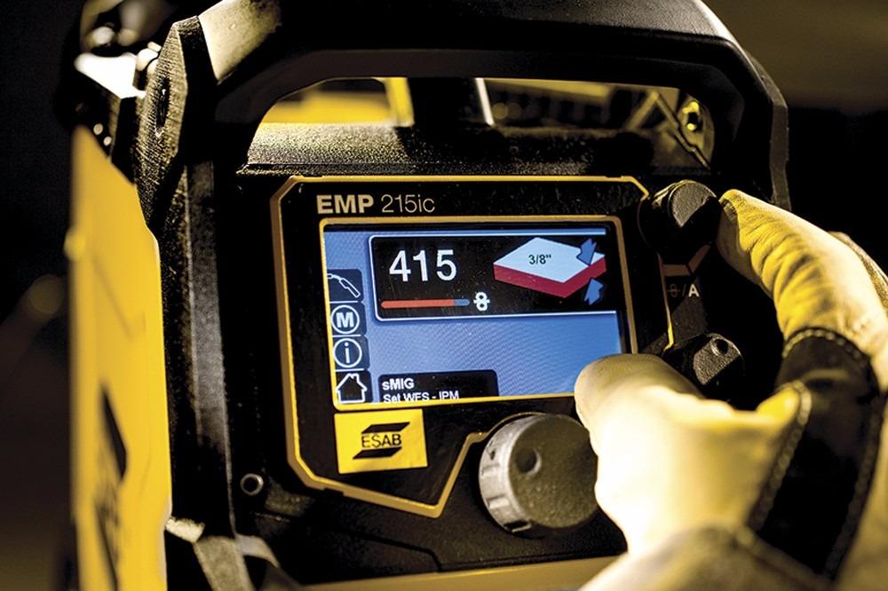 Esab Rebel Emp 215ic Multiproceso+reg+ 2+torchas+pinzas+alam