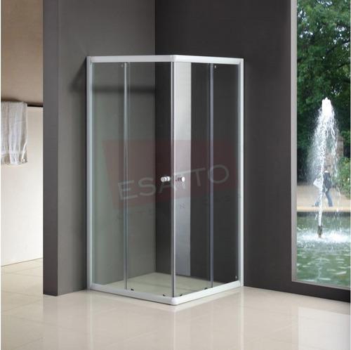 esatto® cancel baño cabina sin base 90 x 90 x 185 ca-011