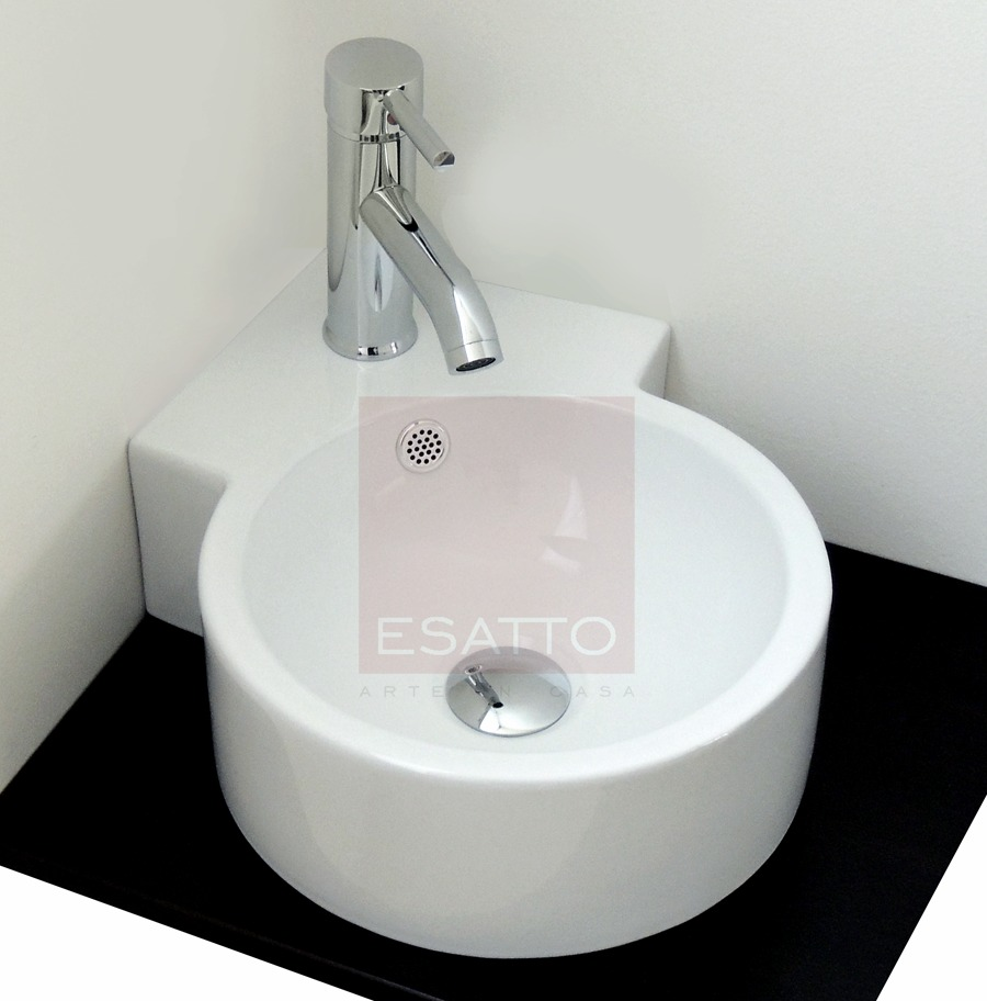 Esatto econokit ecke lavabo esquinero llave v lvula - Mueble esquinero bano ...