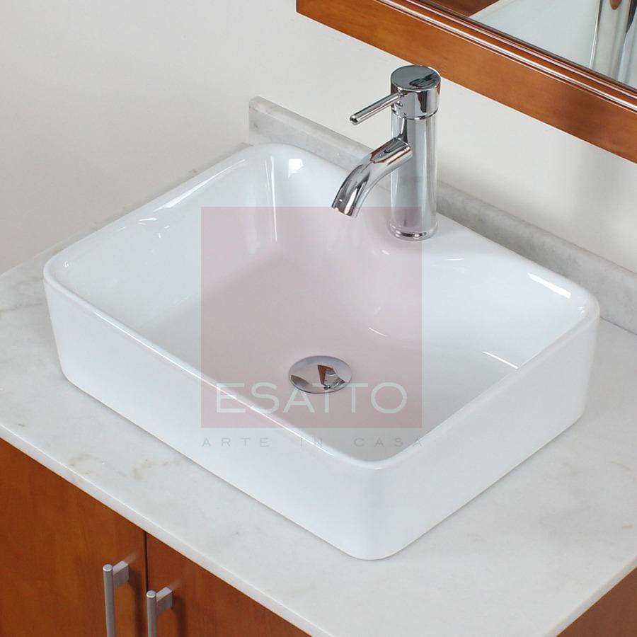 Esatto econokit fidem lavabo ceramico llave valvula for Cuanto cuesta un lavabo
