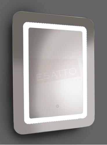 esatto® espejo led touch 80 x 60 cms para baño el8060b