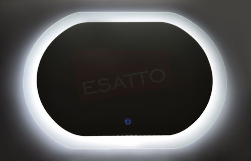 esatto® espejo led touch 80 x 60 cms para baño el8060c