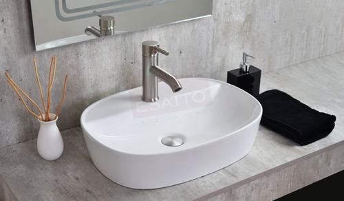 esatto® kit skanda satin paquete lavabo llave valvula cespol