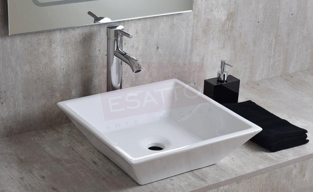 Esatto lavabo moderno maya dual oc 012 llave gratis 1 en mercado libre - Lavabos de sobreponer ...