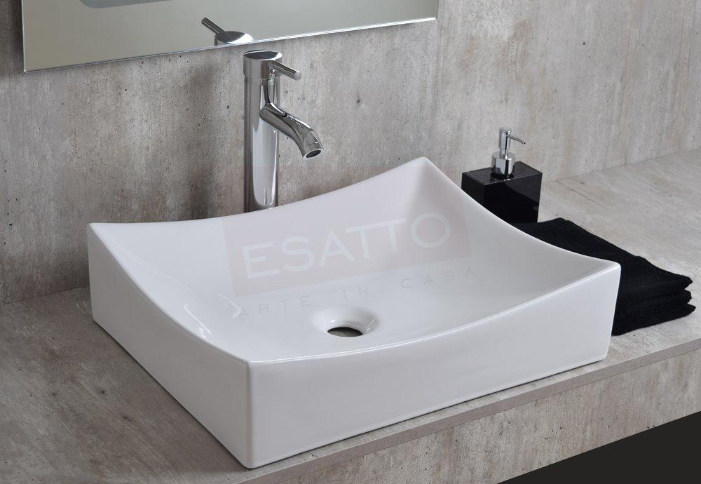 Esatto lavabo moderno vela dual oc 025 llave gratis for Llaves para lavamanos easy