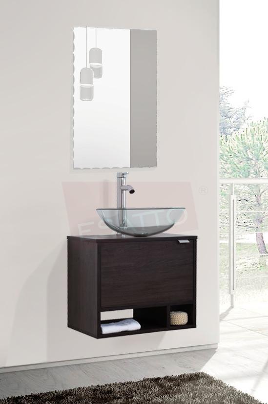 Esatto mueble ba o dcta drop plus lavabo vidrio llave for Lavabo vidrio