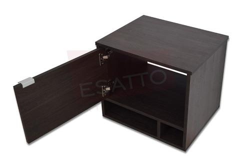 esatto® mueble baño dcta drop plus lavabo vidrio llave espej