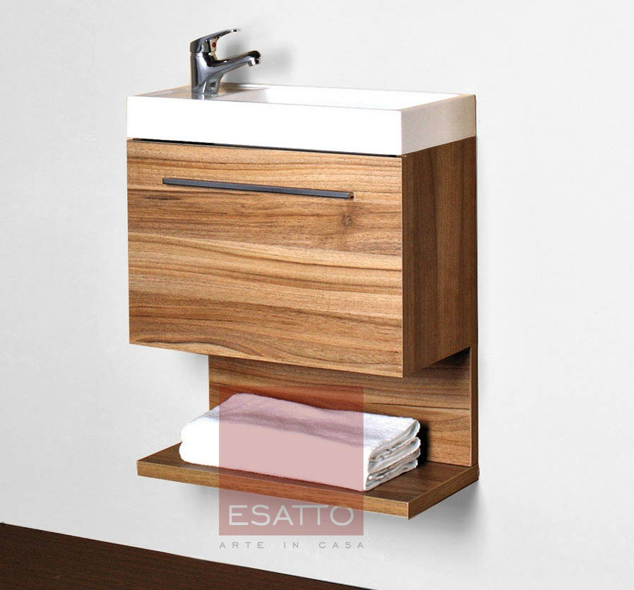 Esatto mueble de ba o coru a 50 estratificado madera for Muebles en la coruna
