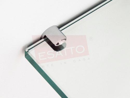 esatto® mueble de baño cristal templado con espejo mv-011