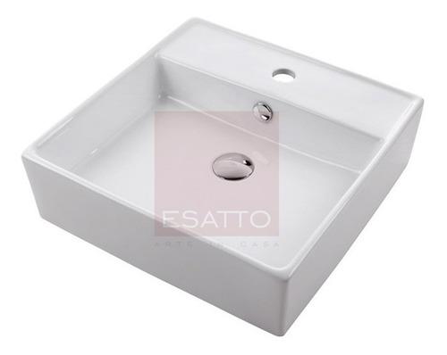 esatto ® - ovalin lavabo de cerámica blanca importado oc-010