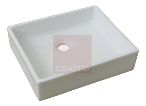 esatto ® ovalín lavabo de ceramica blanca importado oc-037