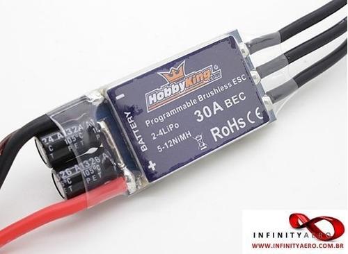 esc hobbyking 30a blueseries brushless speed controller
