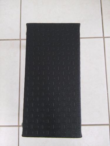 escada 1 um degrau toda preta para maca marcos moveis novo