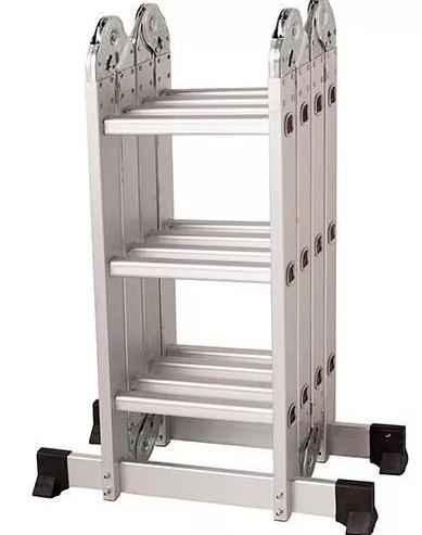 escada 4x3 12 degraus articulada plataforma mor 150kg