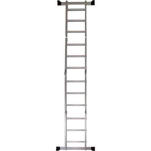 escada 4x3 12degraus multifuncional articulada c/plataforma