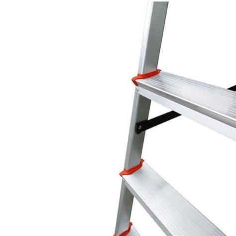 escada 7 degraus alumínio botafogo